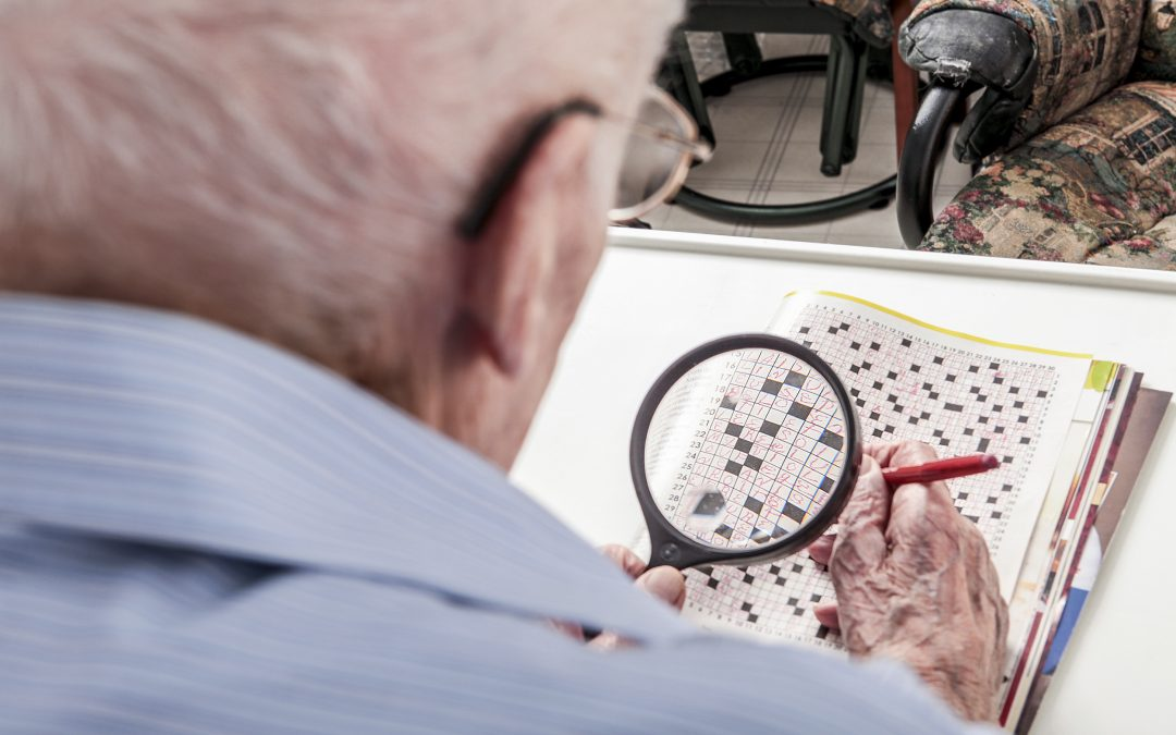 How a low vision assessment could make life easier and safer for the elderly